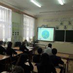 Сегодня сотрудники МОО «Конгресс «МИР» в школе № 8 Симферополя провели  лекцию для школьников
